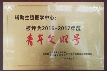 2016-2017年度青年文明号