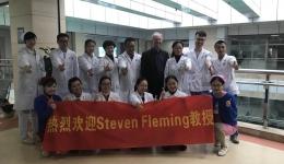 澳大利亚胚胎学家Steven Fleming教授莅临我中心交流引导
