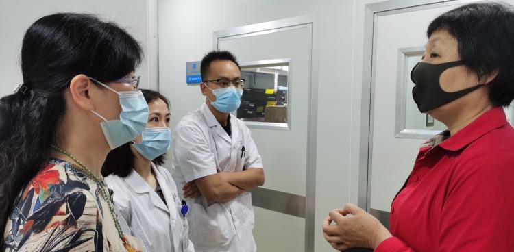北京大学第三医院刘平教授莅临我中心引导植入前胚胎遗传学诊断技术项目筹建工作